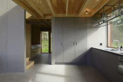 Vue chambre et cuisine- House-Drummer par Bornstein Lyckefors - Karna, Suede © Mikael Olsson
