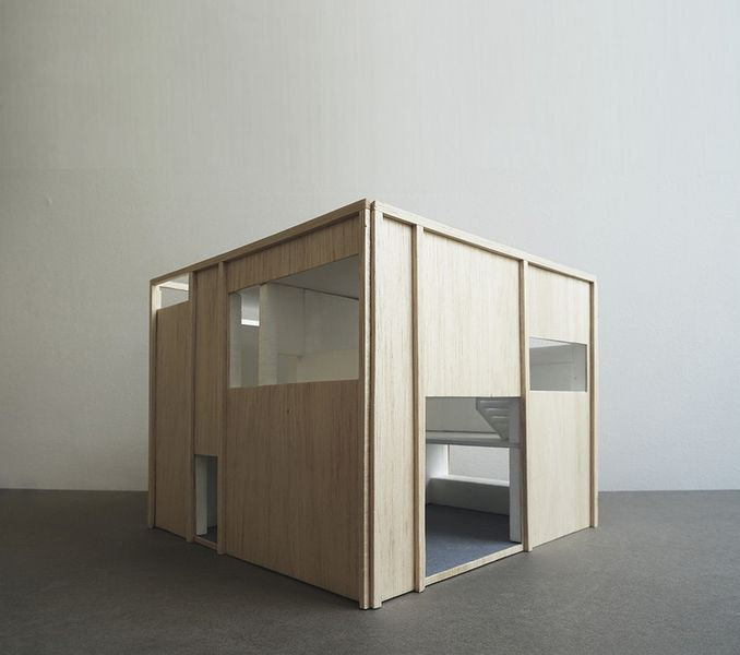 Une maison bois tr s contemporaine pour un batteur su dois for Maquette cuisine 3d