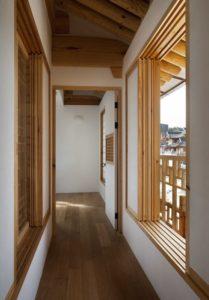 Couloir - Su-o-jae par studio-GAON - Jingwan-dong, Coree du Sud © Youngchae Park