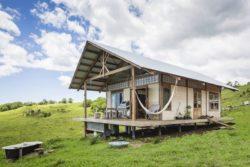 Façade principale - Skyfarm par Michael-Leung - Australie © Living Big in a Tiny House.com