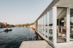 Grandes baies vitrées - Haarlem-Shuffle par vanOmmeren-architecten - Haarlem, Pays-Bas © Eva Bloem