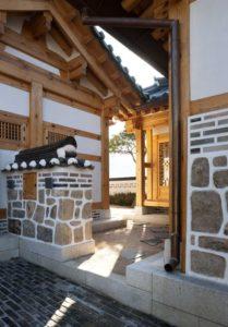 Hall d'entrée - Su-o-jae par studio-GAON - Jingwan-dong, Coree du Sud © Youngchae Park