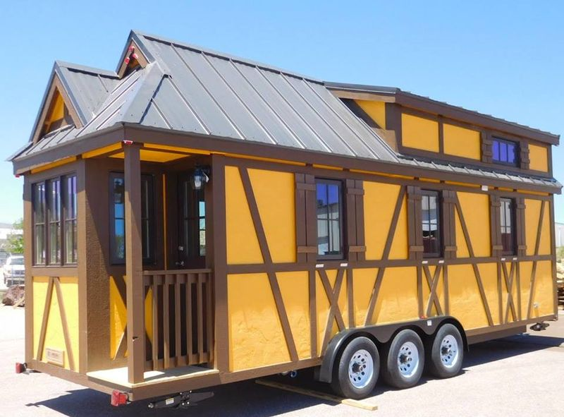 Otto - Tiny-House-hotel - Leavenworth, USA © tumbleweedhouses