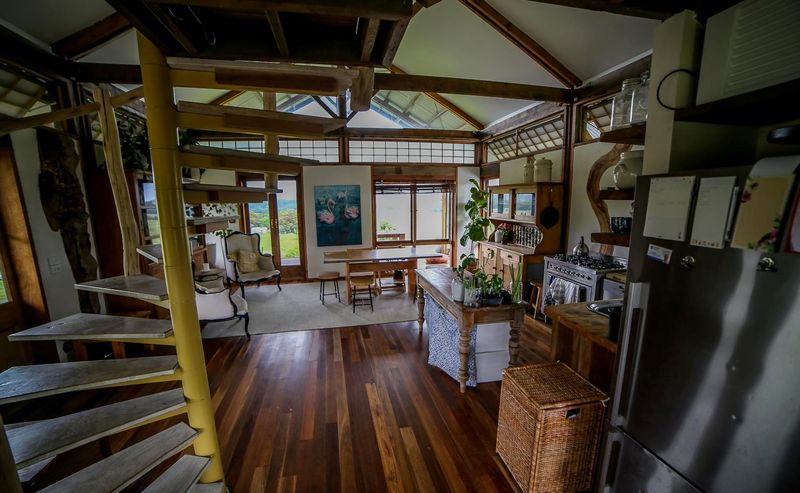 Pièce de vie - Skyfarm par Michael-Leung - Australie © Tiny House.com