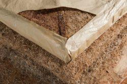Racines des graines isolation biodégradable - Matelas-Radiculaire par Rootman - Chili © Rootman