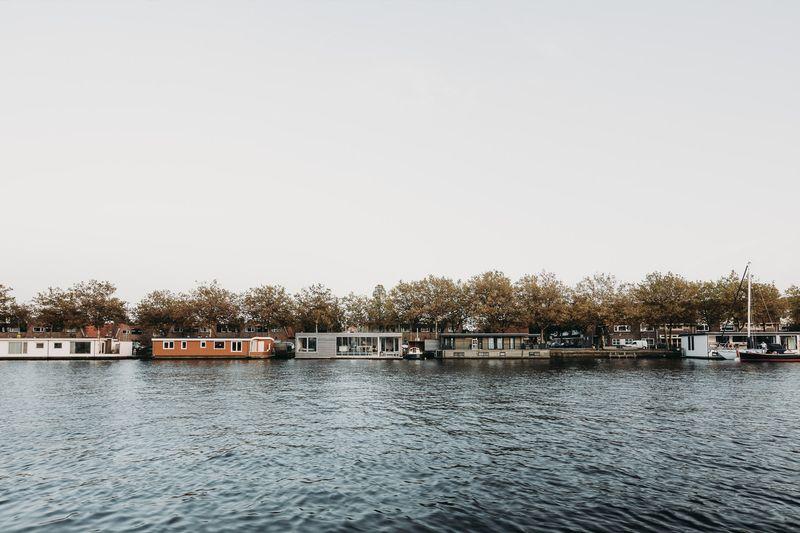 Rivière spaarne - Haarlem-Shuffle par vanOmmeren-architecten - Haarlem, Pays-Bas © Eva Bloem
