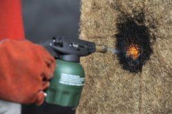 Thermoroot résistant au feu - Matelas-Radiculaire par Rootman - Chili © Rootman