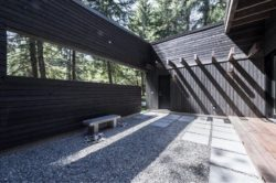 Cour intérieure - Courtyard-House par Robert Hutchison Architecture - Seattle, USA © Mark Woods