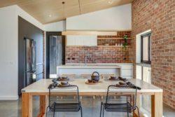 Cuisine et salle séjour - Core 9 par Beaumont Concepts - Cape Paterson, Australie © Warren Reed