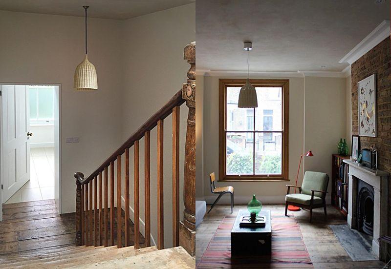 Deux pièces avec murs d'argile parfaitement isolés - Heated Clay Wall par Silke Stevens - Londres, Angleterre