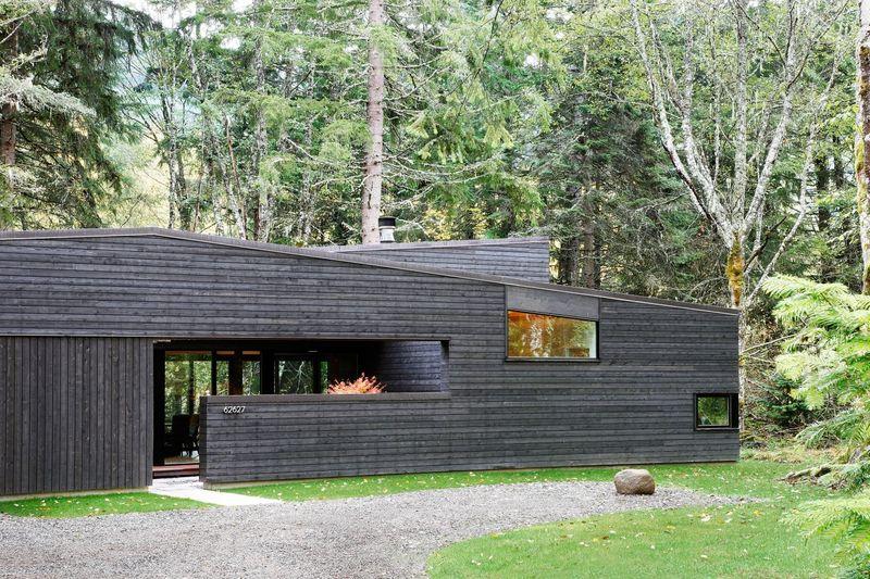 Cour intérieure - Courtyard-House par Robert Hutchison Architecture - Seattle, USA © Mark Woods