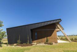 Façade bois et jardin - Core 9 par Beaumont Concepts - Cape Paterson, Australie © Warren Reed