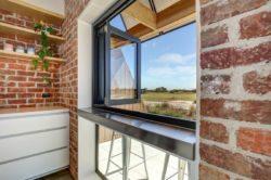 Grande fenêtre ouverture - Core 9 par Beaumont Concepts - Cape Paterson, Australie © Warren Reed