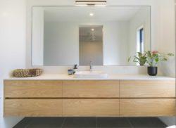 Lavabo salle de bains - Core 9 par Beaumont Concepts - Cape Paterson, Australie © Warren Reed