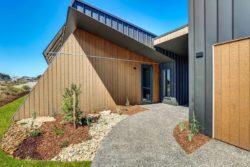 Mini jardin entrée - Core 9 par Beaumont Concepts - Cape Paterson, Australie © Warren Reed