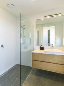 Salle de bains - Core 9 par Beaumont Concepts - Cape Paterson, Australie © Warren Reed