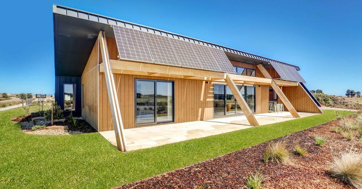 maison core un concept de maison cologique australien build green. Black Bedroom Furniture Sets. Home Design Ideas