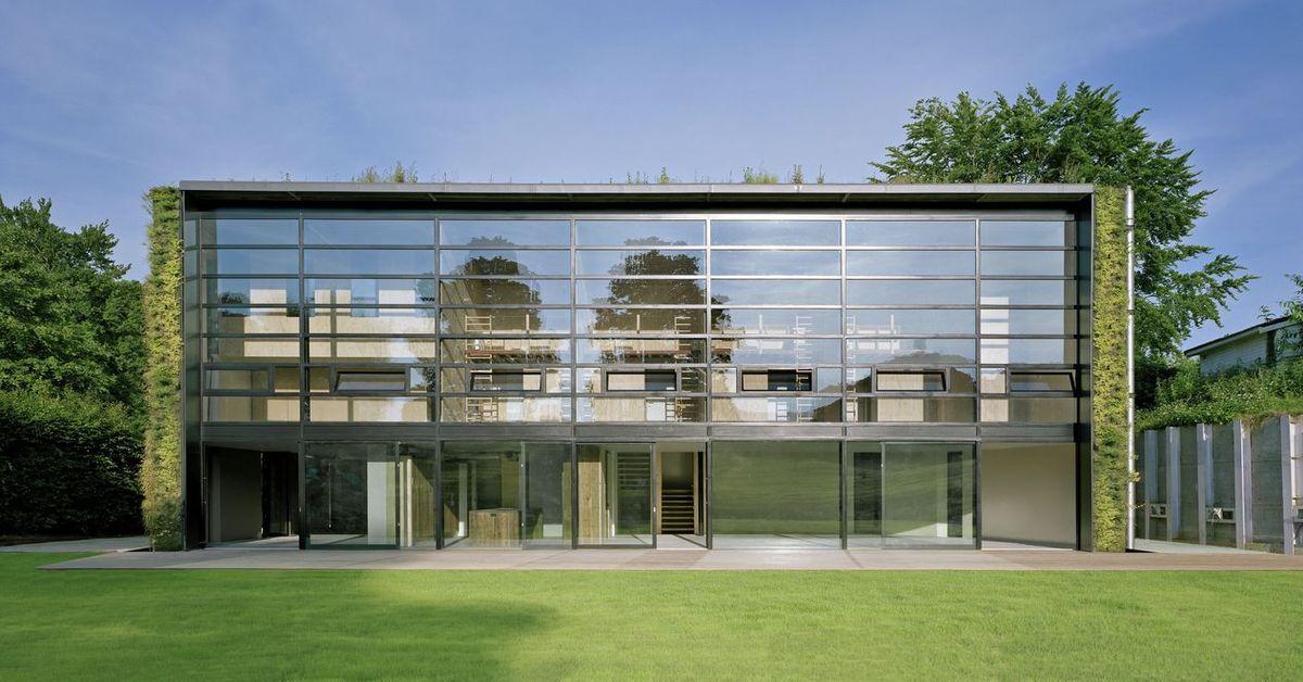 Quand 2 architectes belges v g talisent les murs non for Construction mur exterieur quebec
