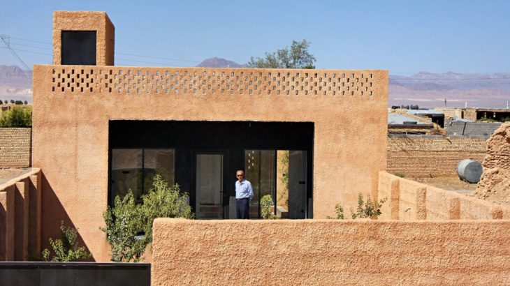 Une- Through Gardens House par BAM Architects - Parvaneh, Iran