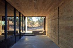 Bardage bois intéreiur - Casa-Caldera par DUST - Texas, USA © Cade Hayes