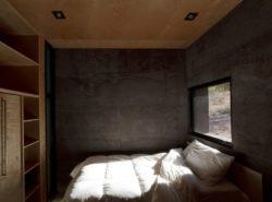 Chambre avec ouverture vitrée - Casa-Caldera par DUST - Texas, USA © Cade Hayes