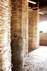 Couches de pailles - Workshop-Italy par Building-Trust - Todi, Italie © Elettra Melani