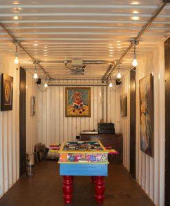 Mini salle de jeu - container-house par Daniel Moreno Flores - Guayaquil, Equateur © Federico Cairoli