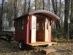 Tinyhouse sur remorque - Don-Vardo par Katy Anderson - USA