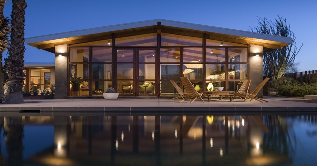 Une - Chino-Canyon-House par Hundred Mile House, Palm Springs - USA © Lance Gerber