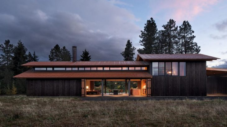 Une - Trout-Lake-House par Olson Kundig - Washington, USA © Jeremy Bittermann