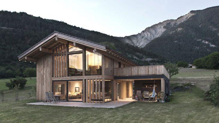 Une-CNR-House par Alp-Architecture - Vollèges, Suisse © Christophe Voisin