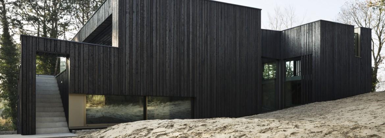 shou sugi ban yakisugi un bardage bois tr s tendance build green. Black Bedroom Furniture Sets. Home Design Ideas