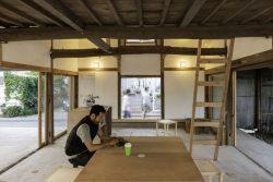 Aménagement salon - Deguchishoten par kurosawa kawara-ten - Ohara Isumi Chiba, Japon © Ryosuke Sato