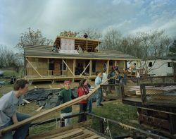 Contruction maison par des étudiants - Homes-Rural-America par Rural-Studio - Alabama, USA © Timothy Hursley