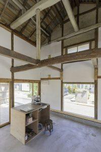 Espace cuisine - Deguchishoten par kurosawa kawara-ten - Ohara Isumi Chiba, Japon © Ryosuke Sato