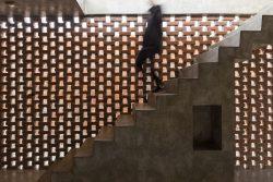 Espace étage ouvert - Stilts-House par Natura-Futura-Arquitectura - Equateur, Villamil © Maderas Pedro