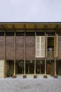 Ouvertures fenêtres en bois - Stilts-House par Natura-Futura-Arquitectura - Equateur, Villamil © Maderas Pedro