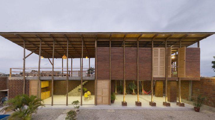 Une- Stilts-House par Natura-Futura-Arquitectura - Equateur, Villamil © Maderas Pedro