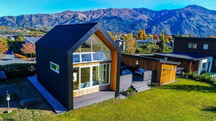 Une-Tiny-house-concept - Nouvelle-Zelande, Wanaca © Living Big
