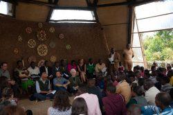 Bâtiment communautaire assemblée - Gahinga Batwa Village par Studio FH Architects - Gahinga, Rwanda © Will Boase Photography