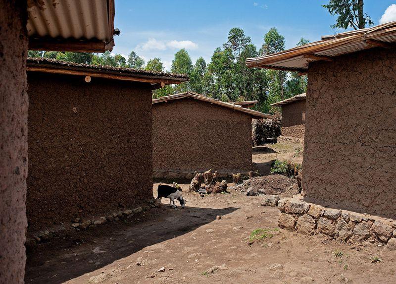 Bâtiments d'habitations des familles - Gahinga Batwa Village par Studio FH Architects - Gahinga, Rwanda © Will Boase Photography