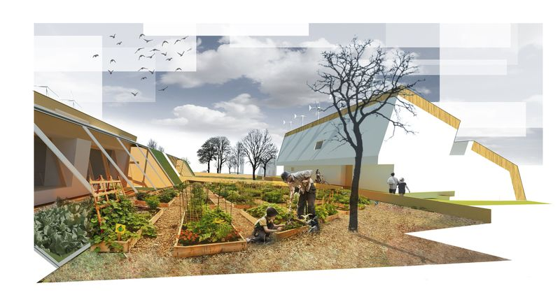 Culture communautaire - The-Zero-Emission-Neighborhood par Architecture-Humans - Prestina, Kosovo