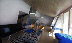 Salon et salle séjour maison - The-Zero-Emission-Neighborhood par Architecture-Humans - Prestina, Kosovo