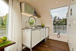 Cuisine - Houseboat par Nautilus - Berlin, Allemagne © Nautilus
