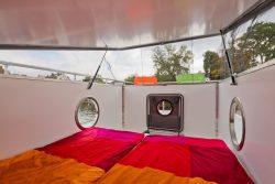 Double couchettes - Houseboat par Nautilus - Berlin, Allemagne © Nautilus