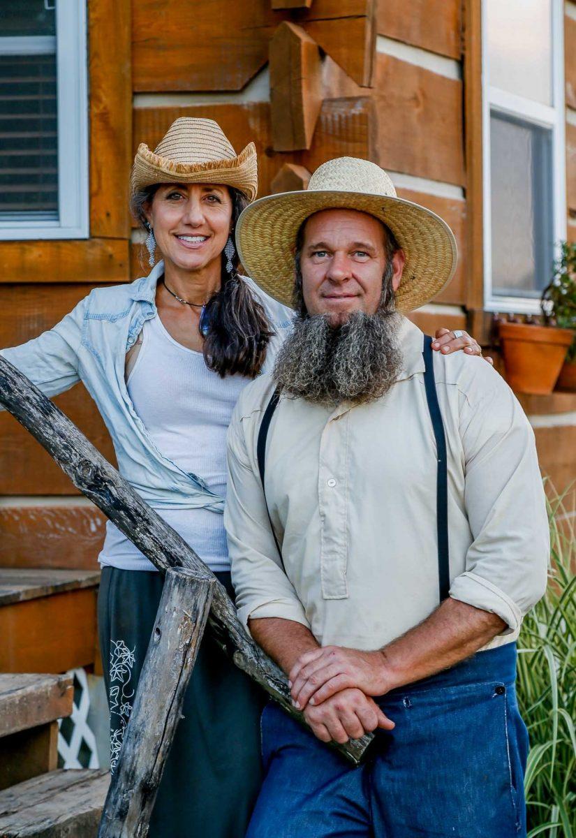 Doug et Stacy par Doug-Stacy - Missouri, USA © livingbiginatinyhouse