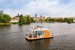 Vue panoramique - Houseboat par Nautilus - Berlin, Allemagne © Nautilus
