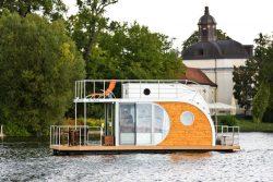 Vue terrasse - Houseboat par Nautilus - Berlin, Allemagne © Nautilus