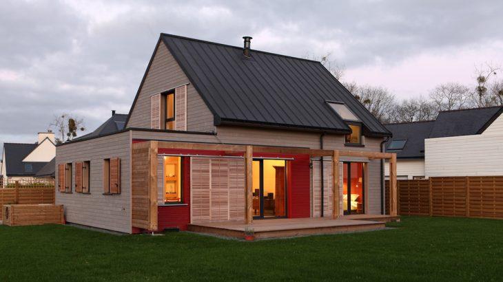 maison bois contemporaine | Build Green