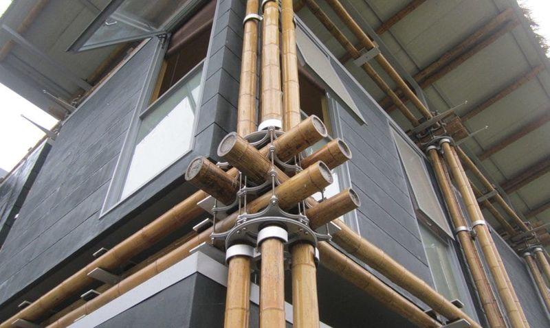 construction modulaire bambou - casa-de-bambu par Cardenas de Milan - Zhejiang, Chine © Cardenas de Milan